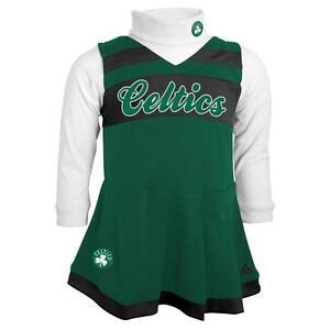 900d9da8868 Image is loading Boston-Celtics-Cute-Kids-Toddler-Girls-2T-Cheerleader-