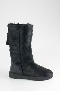 Bronx da Stivali donna Foderati Stivali pelle Scarpe vera da invernali Scarpe in cavallino ArwgA5q