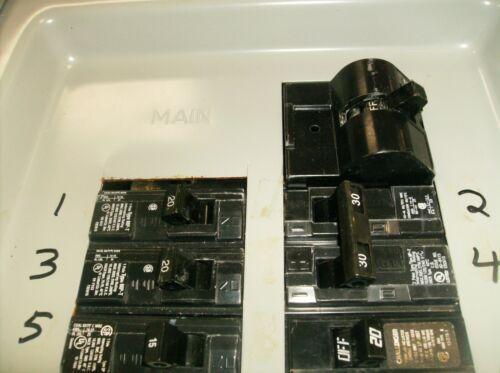 Siemens or Crouse Hinds Hump breaker Generator Interlock Kit 150 Amp UL Murray