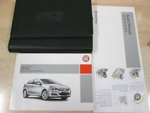 VAUXHALL ASTRA OWNERS MANUAL HANDBOOK /& WALLET PACK 2006 To 2011