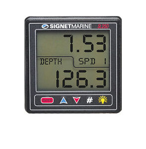 Brand-New-Signet-Marine-SL250-SmartPak-System-Speed-and-Depth-SIGNETMARINE