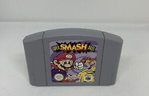 Nintendo 64 N64 juego Super Smash Bros-solo Carro-gc-pal