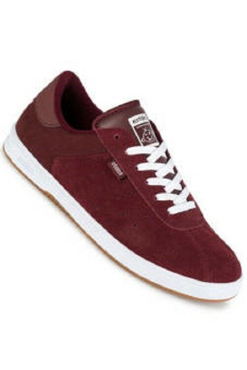 ETNIES THE SCAM SKATEBOARD SNEAKERS Uomo SHOES BURGUNDY 4101000462-637 SZ 11 NEW