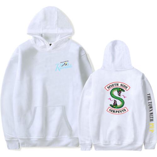 Serpent Of Riverdale Hoodie Sweatshirt South Side Serpents Jumper Jacket Mens