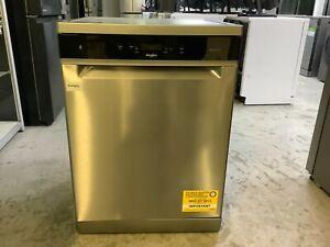 Whirlpool WFC3C33PFXUK 14 Place Freestanding Dishwasher - Stainless #RW19555