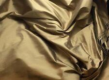 "Silk DUPIONI Fabric MOCHA BROWN fat 1/4 18""x27"" remnant fat 1/4 SUPER SALE"