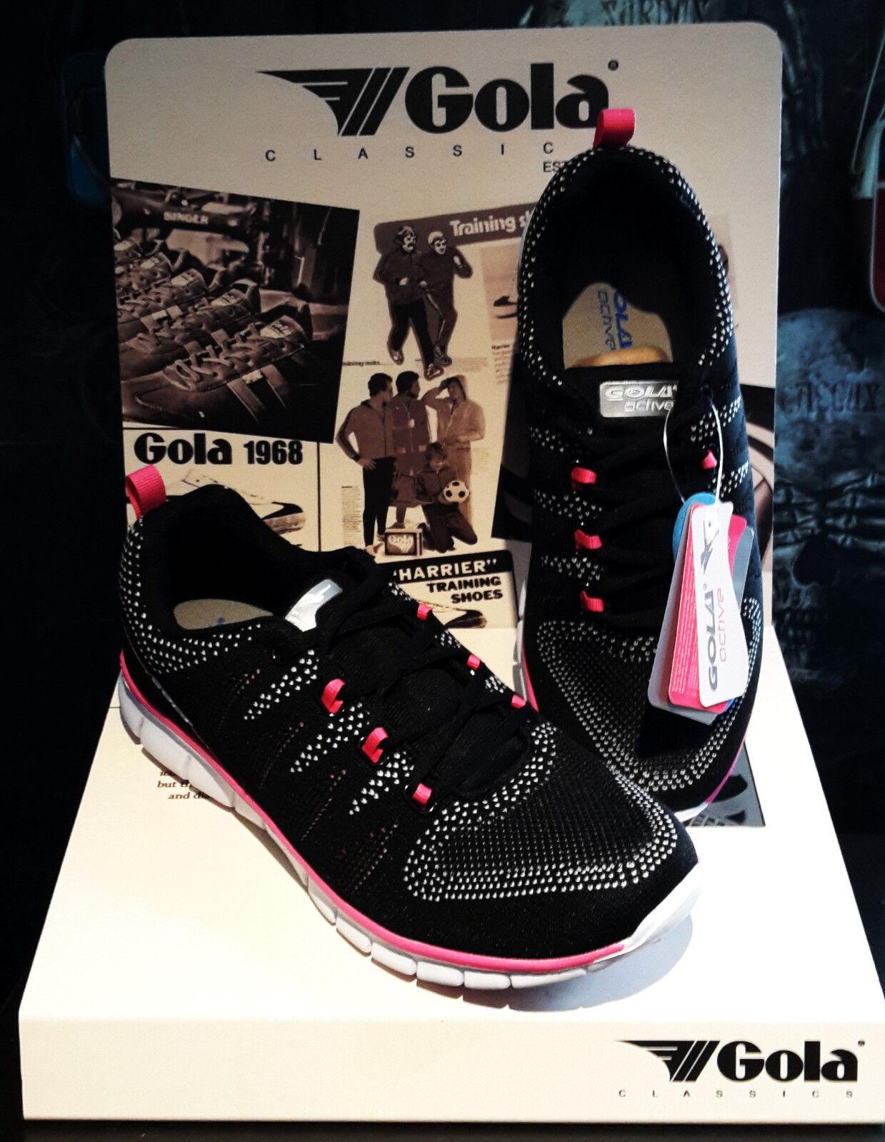 Gola Damen Sport & Freizeitschuh Tempe schwarz/pink
