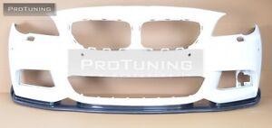 F10-F11-M-sport-Front-Bumper-spoiler-lip-chin-m-Power-M-Tech-diffuser-sport-CSL