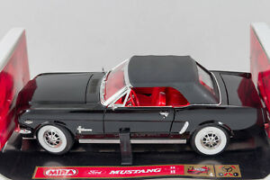 Image Is Loading Raven Black Ford Mustang 1964 1 2 Soft