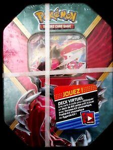 BOITE-TIN-BOX-POKEBOX-POKEMON-YVELTAL-EX-XY-170-4-BOOSTERS-NEUF-carte