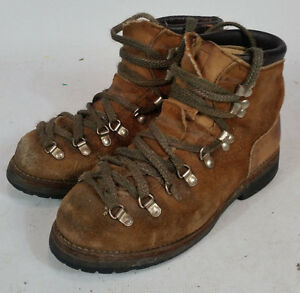 Vintage Hiking Mountaineering Vibram Red Wing Boots Mens 7