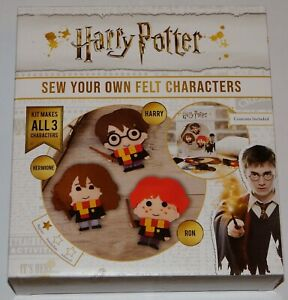 Harry-Potter-Sew-Your-Own-Felt-Characters-Brand-New-781065