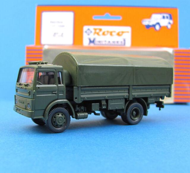 Roco Minitanks H0 454 MAGIRUS 110-16AM LKW Pritsche Bundeswehr BW HO 1:87 OVP