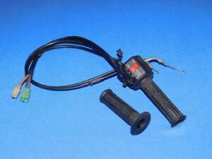 Kawasaki-GPX-600-R-ZX600C-94-99-157-5-Lenkerschalter-rechts-mit-Gasgriff