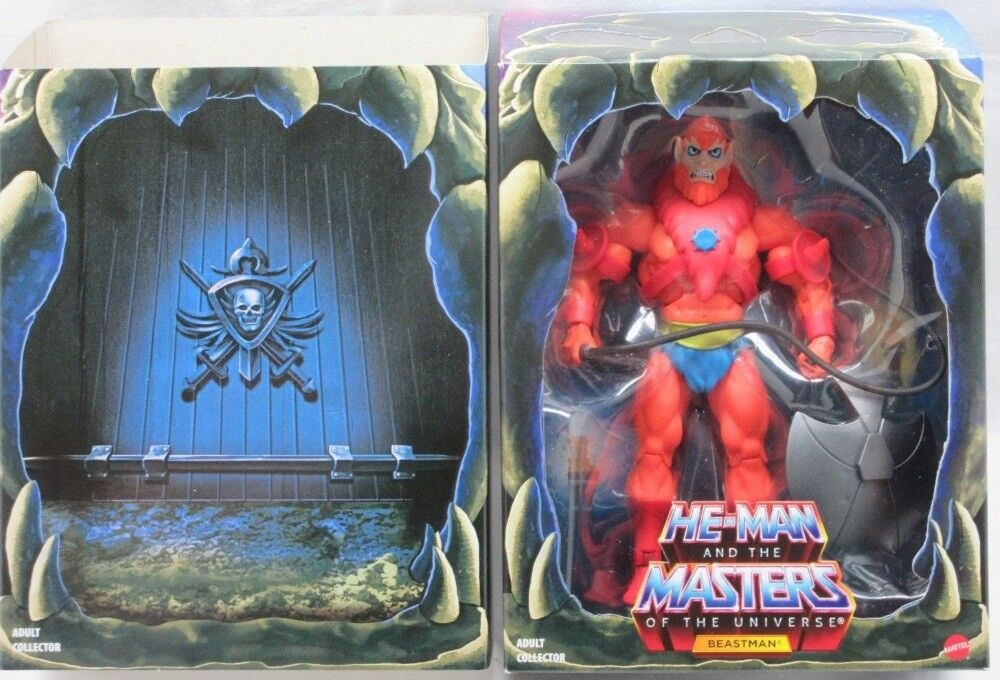 Masters Of The Universe Classics Beast Man Filmation 2.0 Mattel (Mint In Box)