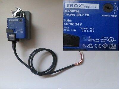 Trox Technik M466dt6 Lm24a-sr-ftr 5nm Ac/dc 24v #4480