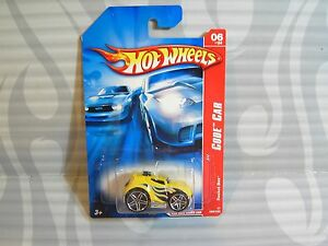 2007-HOT-WHEELS-039-039-CODE-CAR-039-039-090-ROCKET-BOX-YELLOW