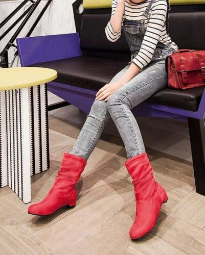 Stivali Scarpe 2 Donna Blu Beige Cm Nero Stivaletti 8961 Rosso Comodi Invernali rtX4wx7qr