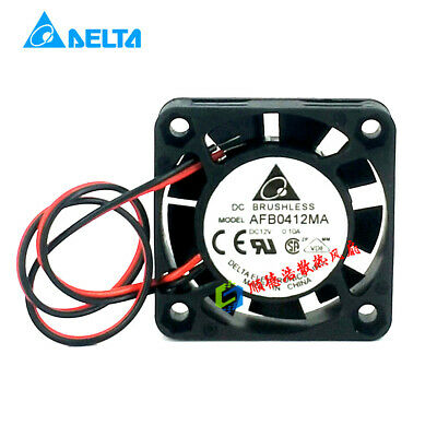 for Delta AFB0412HA 4010 4cm 12V 0.14A Double Ball Cooling Fan