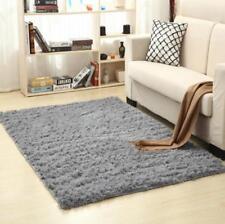 Item 1 Sienna Large Gy Floor Rug Plain Soft Sparkle Area Mat 5cm Thick Pile Glitter