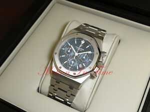 c2ce22569a3 Image is loading Audemars-Piguet-Royal-Oak-Chronograph-39mm-Mens-Watch-