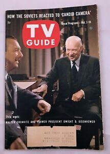 1961-TV-Guide-October-7-Eisenhower-Shirley-Booth-Allen-Funt-77-Sunset-Strip-PITT