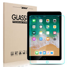 for iPad 6th Generation 9.7 2018 HD Clear Tempered Glass Screen Protector