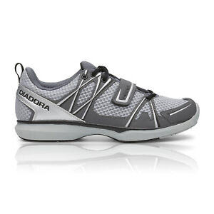 Dettagli su Diadora Herz Mens Casual SPD Cycling Shoes Grey Sizes 43, 44, 45, 46, 47
