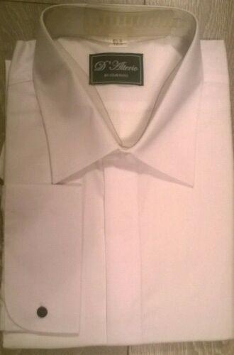 White shirt d/'alterio Wedding formal Party evening wear Smart  L XL XXL New