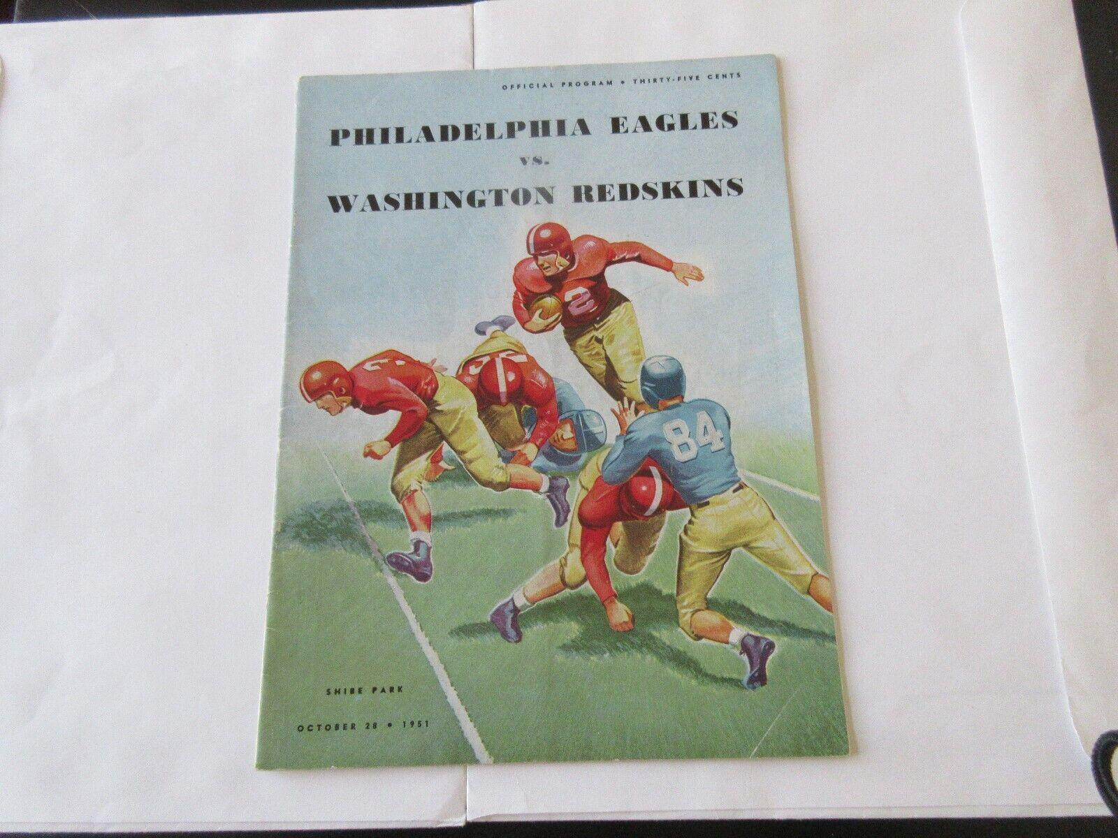 Philadelphia Eagles vs. Washington Redskins , Official