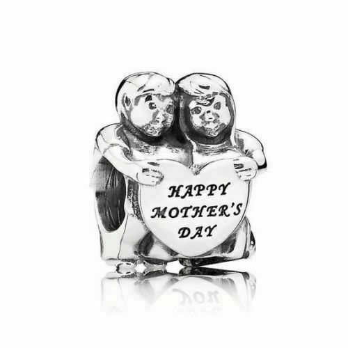 Authentic Pandora 925 Sterling Silver Charm From Us Mother S Day 791517 For Sale Online Ebay