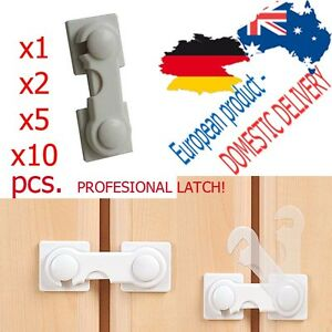 x1-x2-x5-CABINET-LOCK-Latch-HighQUALITY-Lock-Leash-Tether-Baby-SAFETY-STRIP