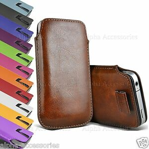 Ultra-Slim-Premium-Leather-Pull-Tab-Pouch-Case-Cover-For-Apple-iPhone-X-XS-8