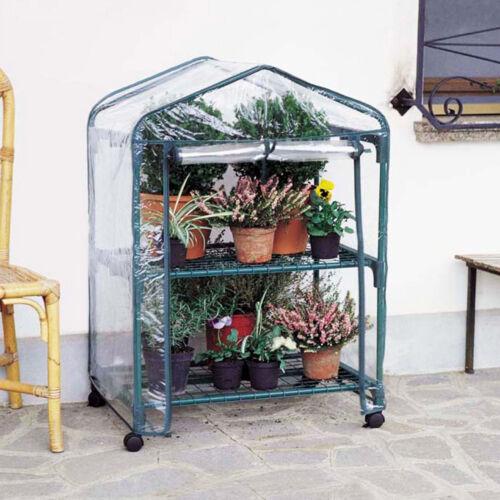 Telo ricambio serra serre balcone azalea 2 ripiani plastica trasparente 2491