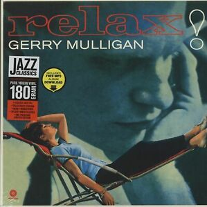 Mulligan-Gerry-Relax-2-Bonus-Tracks-New-Vinyl