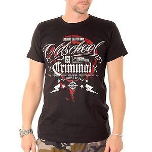Oldschool-nous-Don-039-t-Call-The-Police-tee-shirt-haut-pour-homme-couleur-noire