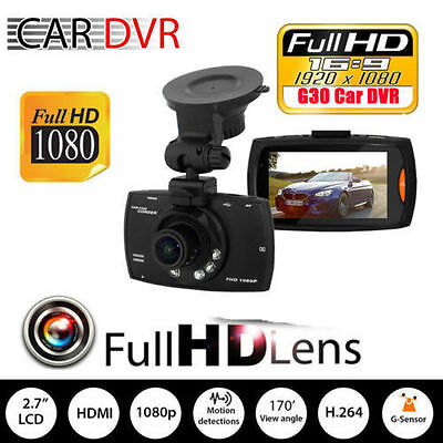 "2.3"" LCD Car Camera Full HD Dash Cam Crash DVR G-sensor Night Vision  FE"