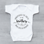 miniature 1 - Hand Picked For Earth By My Brothers In Heaven Circle Unisex Baby Grow Bodysuit