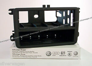 genuine vw polo 6r single din radio facia adaptor brand. Black Bedroom Furniture Sets. Home Design Ideas