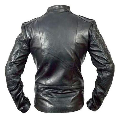 motard noir pour Brando cuir moto en Veste Classic homme xHOqAOYn