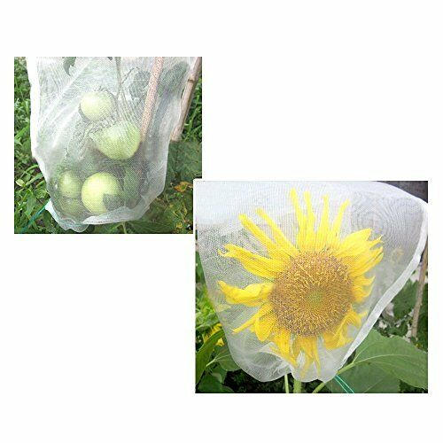 """50PCS Agfabric 24/""""x16/"""" Mosquito Netting Insect netting Plant//Fruit Protect Bag"""