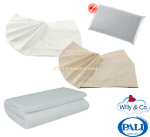 Guanciale Antiacaro Materassino Willy & Co Campeggio Set Lenzuola Willy & Co