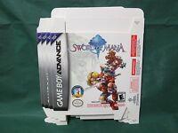 Sword Of Mana (nintendo Game Boy Advance, 2003) Display Box Only