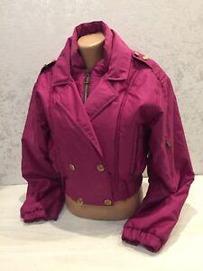 Vintage Women's Moncler Grenoble Ski Jacket Bomber Size 40