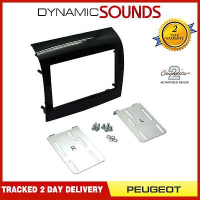 CT24PE19 Coche Adaptador De Panel Fascia Surround Negro Piano Para Peugeot Boxer 2014 en