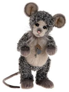 Sj5647a Isabelle Collection Charlie Bears Persevering Neat Mouse Limited Edition