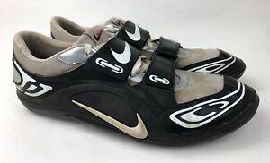 c33e5b9cbc13 NIKE ZOOM ROTATIONAL 4 Track   Field BLK WHT Shoes EUR 49.5 Men s US ...