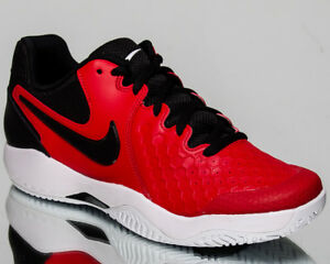 Details about Nike Air Zoom Resistance Men University Red Black White Tennis Shoes 918194 660