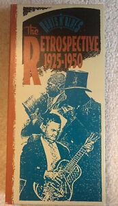 Roots-n-039-Blues-The-Retrospective-1925-1950-4CD-booklet-Box-Set-Blues-amp-More