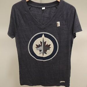 NHL-CCM-Winnipeg-Jets-Hockey-Shirt-New-Womens-M